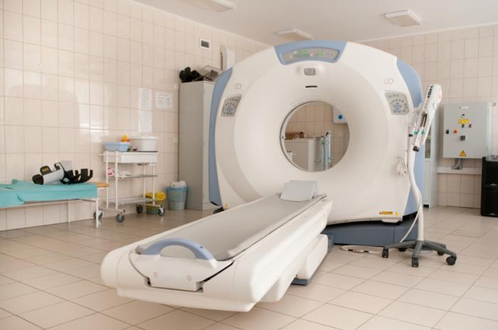 CT скенер.