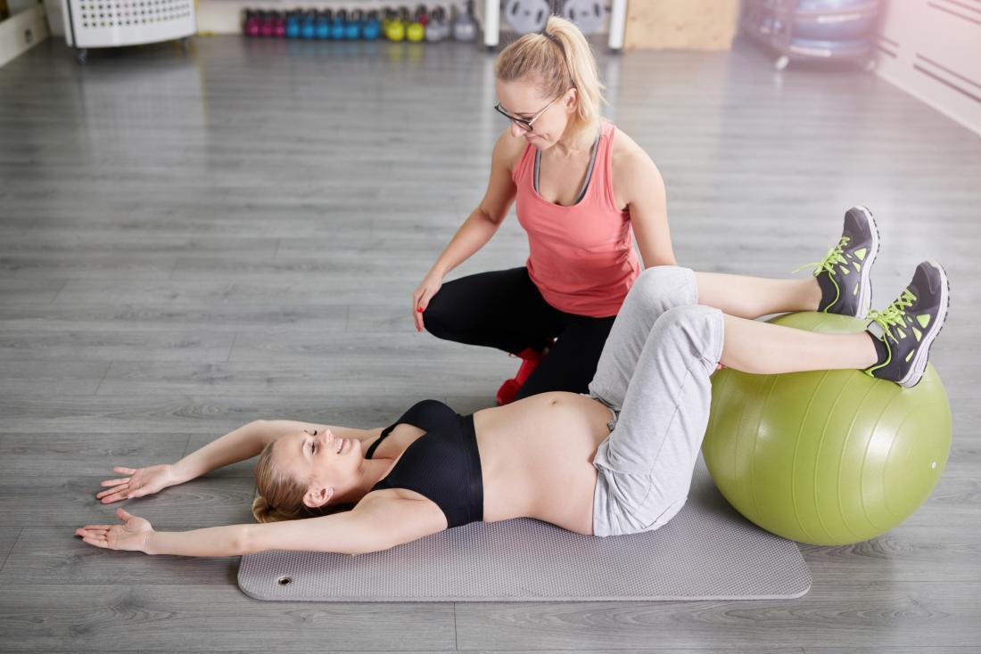 Бременност упражняване