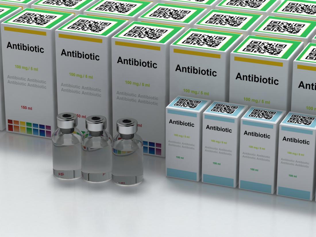 sıvı formda antibiyotik