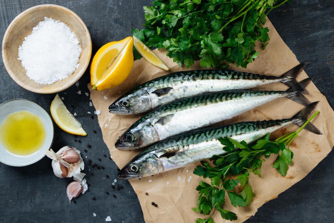 Скумрия на борда може да подобри нивата на HDL холестерола