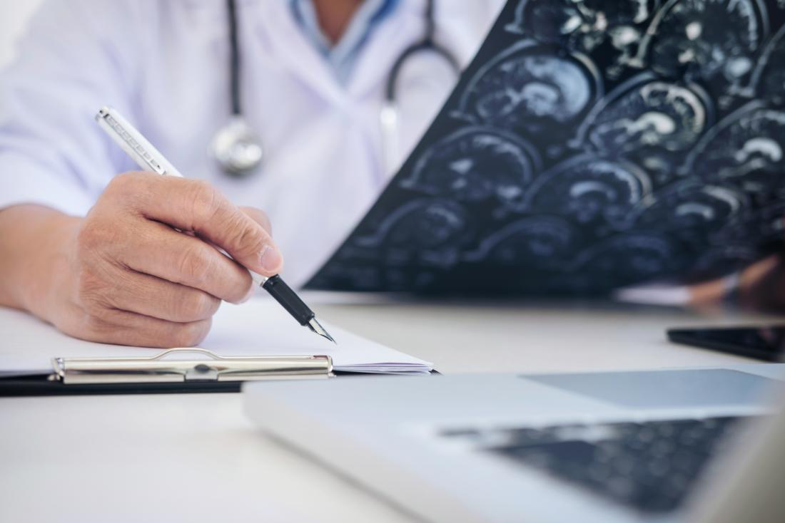 Notas de escrita de neurologista