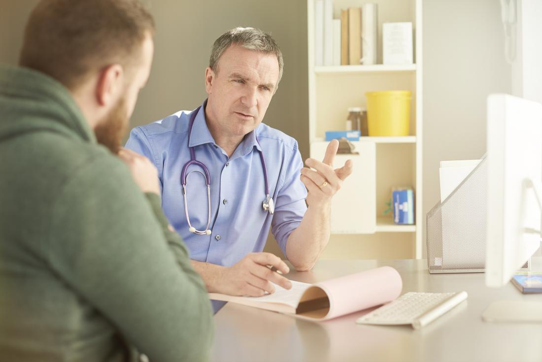 Mann wird mit PMR diagnostiziert