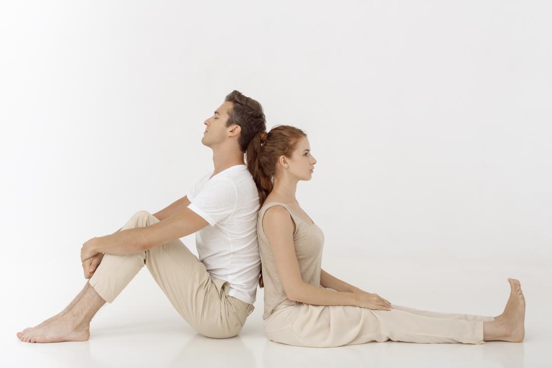 男性と女性のホルモン不均衡