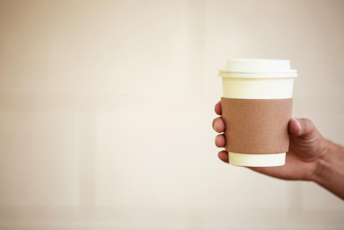 コーヒーカップの手