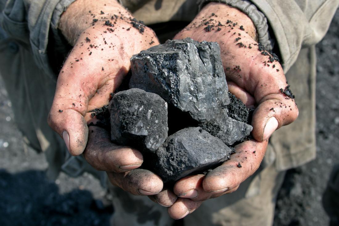 излагането на въглища може да предизвика интерстициална белодробна болест