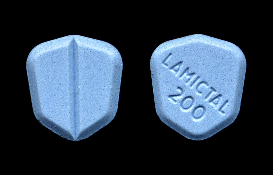 Lamictal Medikament aus nächster Nähe