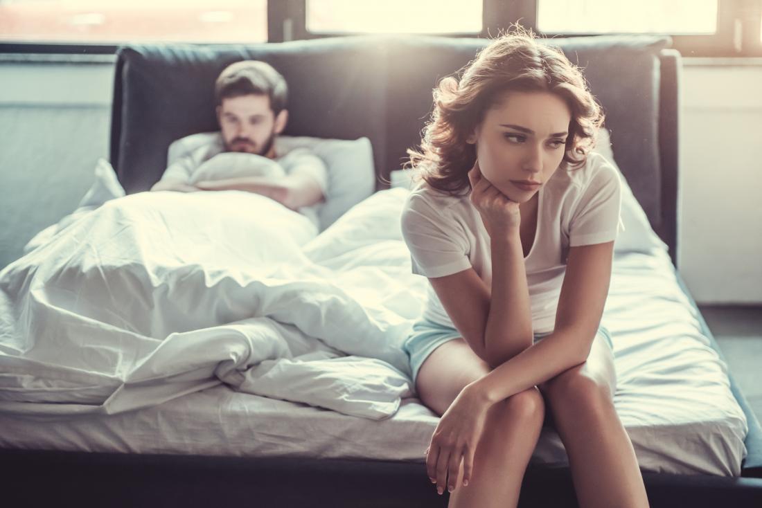 Vaginismus có thể dẫn đến căng thẳng trong một mối quan hệ.
