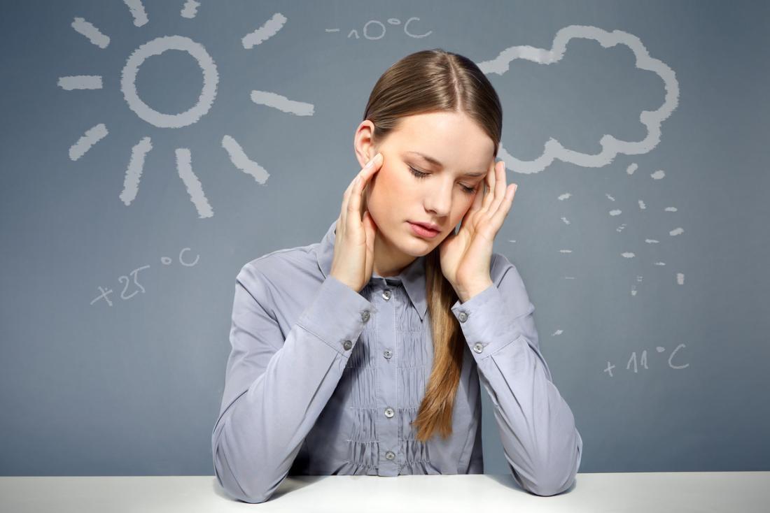 Dores de cabeça com pressão barométrica