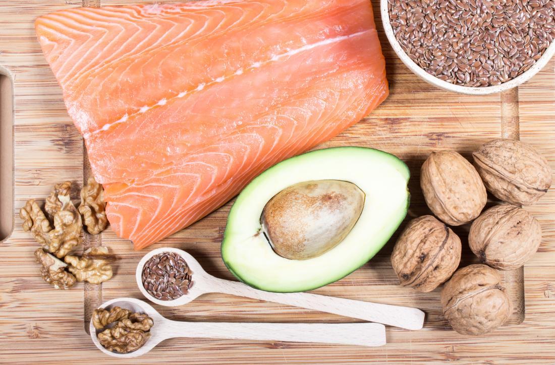 une sélection de nourriture riche en vitamine B7