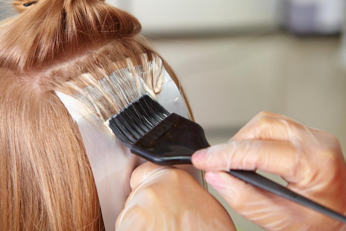 Haarfärbemittel-Allergie