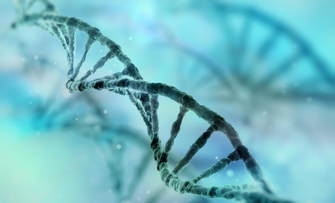 Uma visão de uma vertente de DNA
