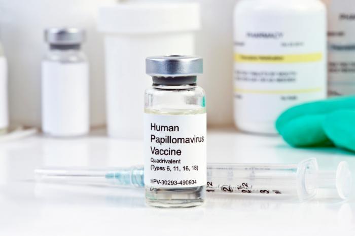 [Vacina contra o HPV]