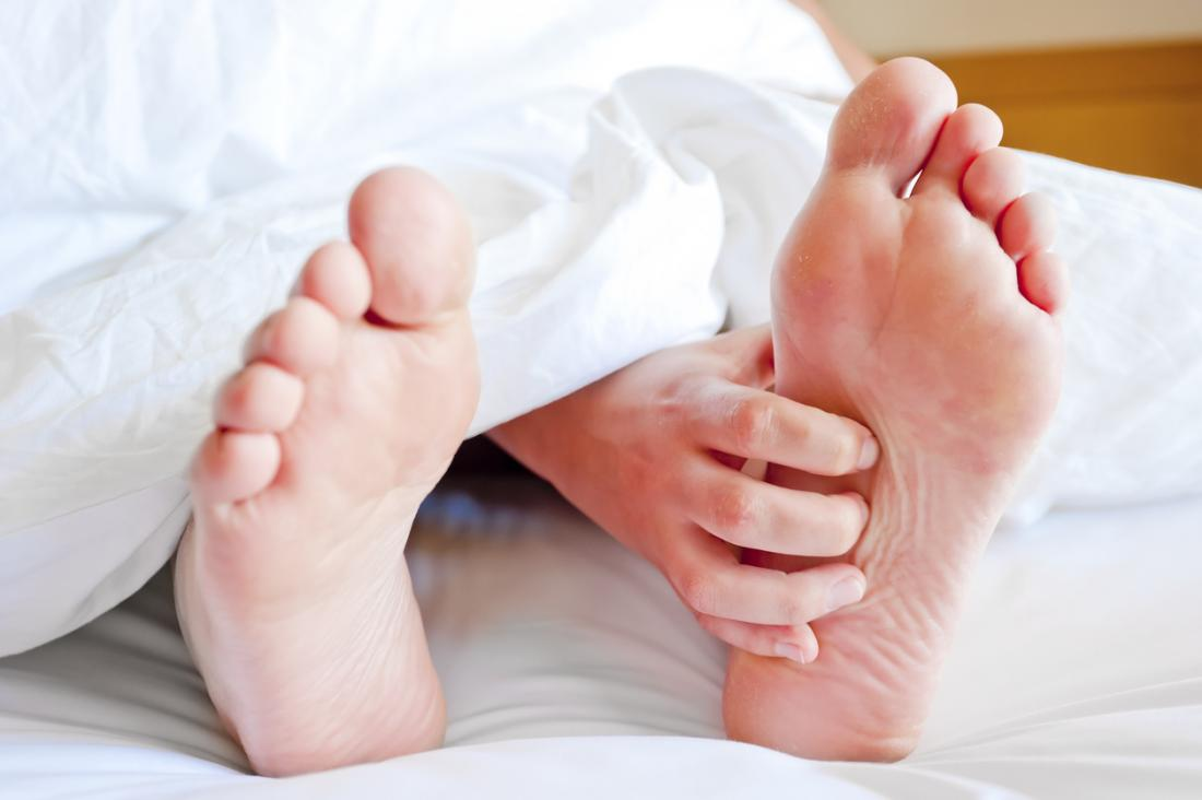 ベッドの足をかゆみ