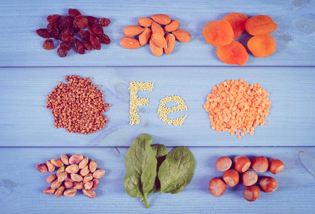 鉄分が豊富な食品