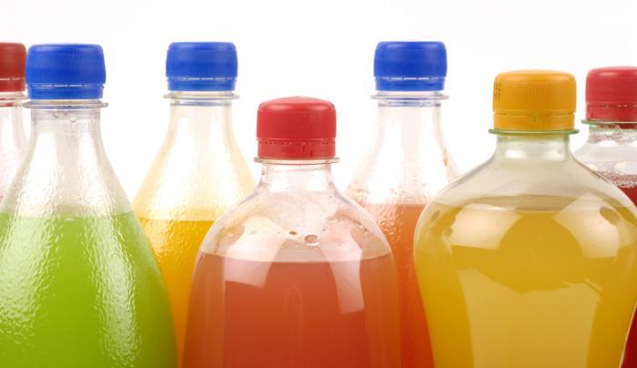 kohlensäurehaltige Getränke