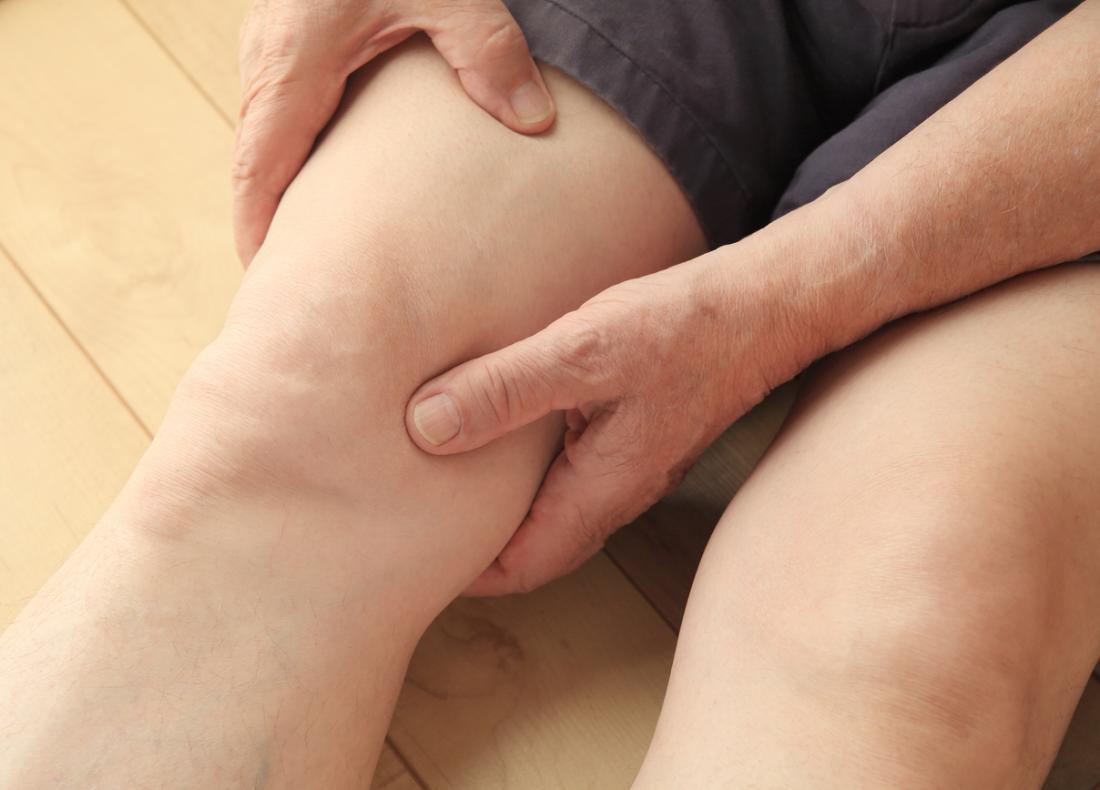 Douleur dans la jambe.