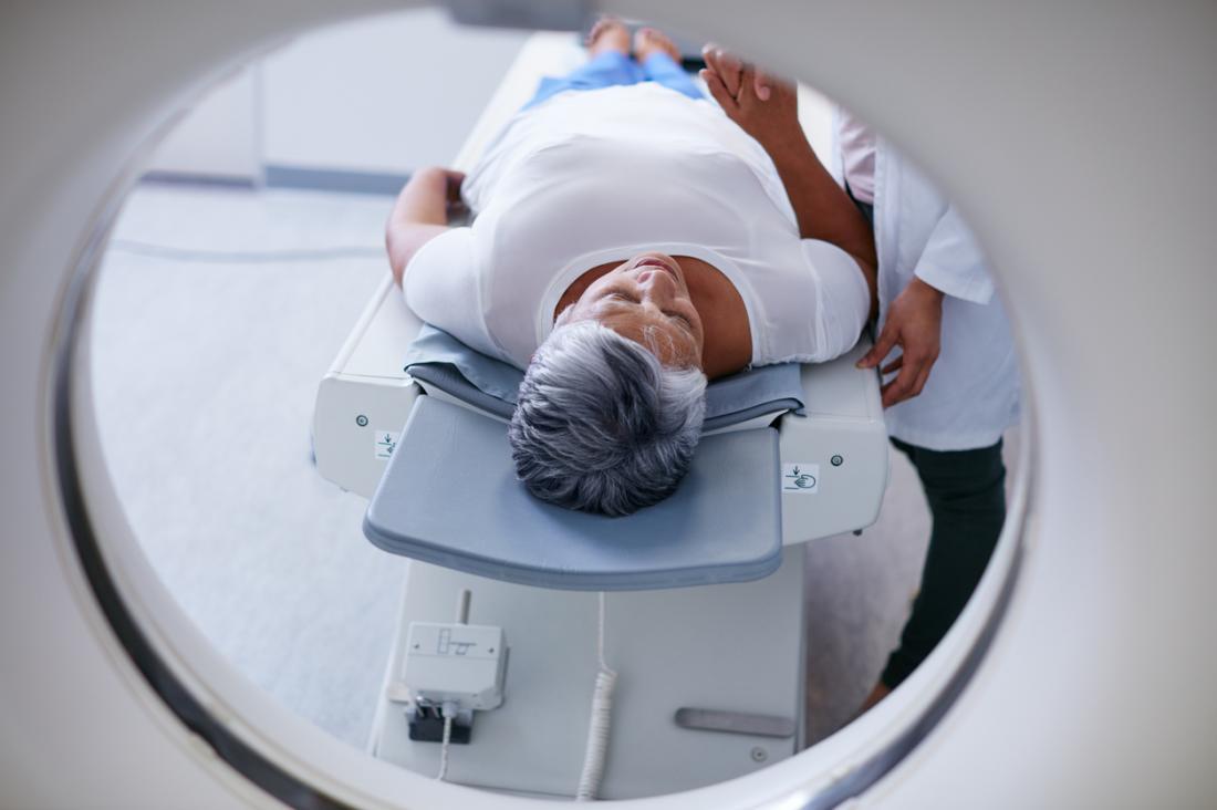 Occhi di procione CT Scan