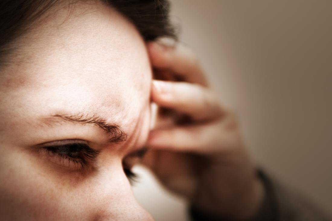 Tontura, náusea e problemas de visão.