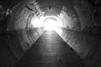 Luz no fim de um túnel