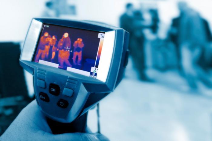 Caméra de thermographie