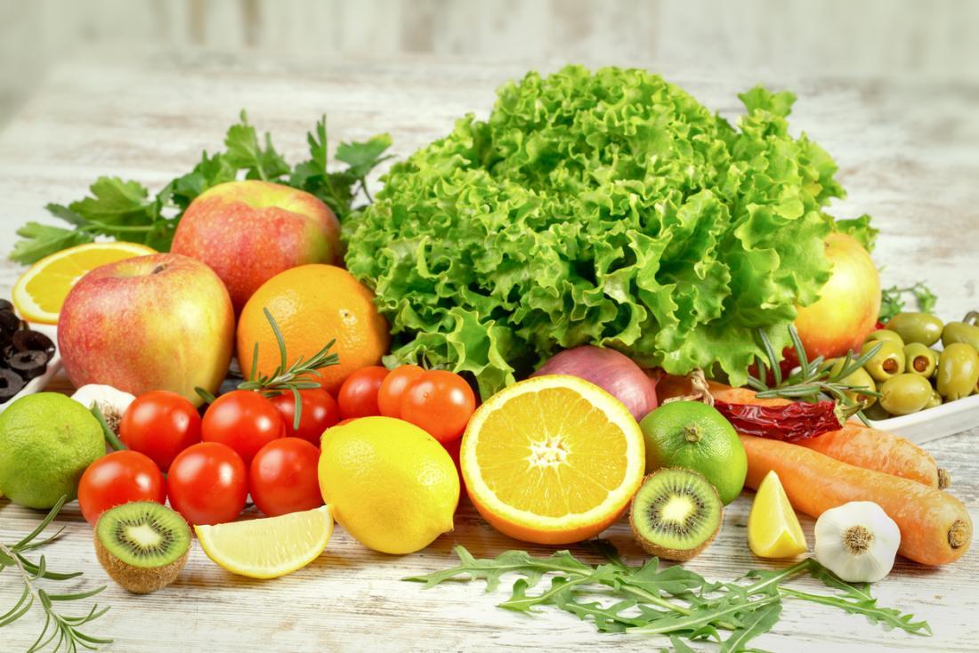 подбор на плодове и зеленчуци
