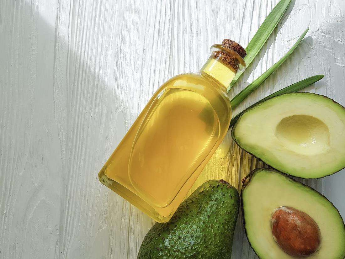 Avocadoöl, das auf dem Haar verwendet werden kann