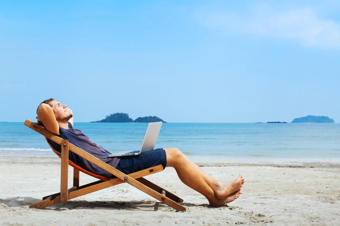 người mơ mộng ở bãi biển