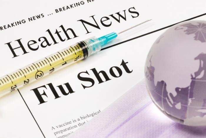 Một phát cúm trên một tờ báo