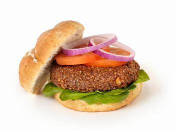 Bánh burger chay