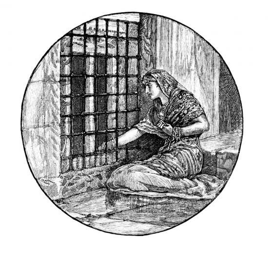 [1800'lerde bir kadın mahkum]