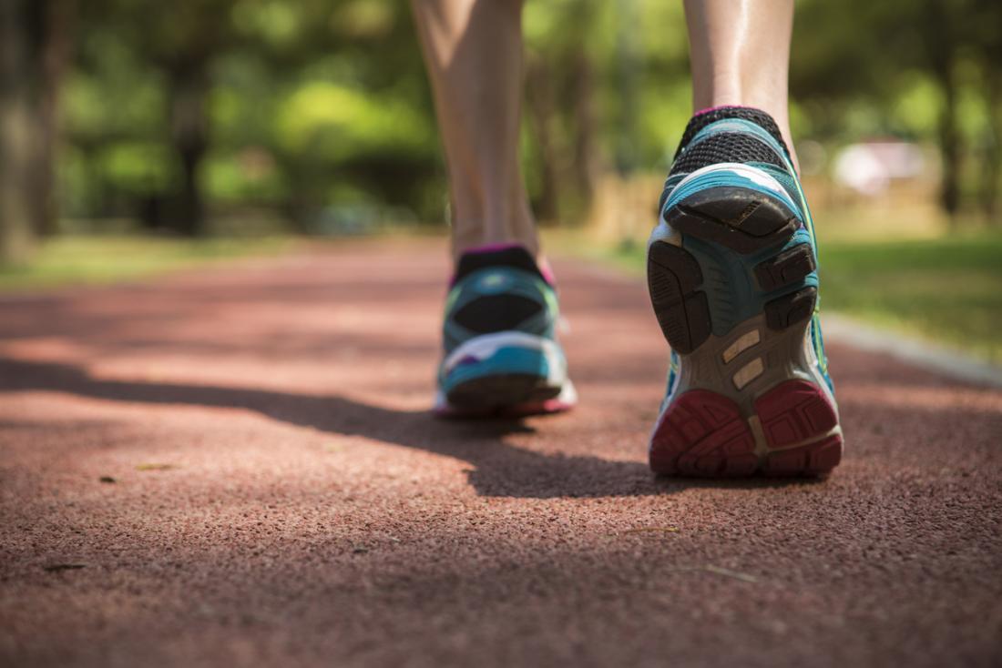 Yürüme, koşma ve koşu.