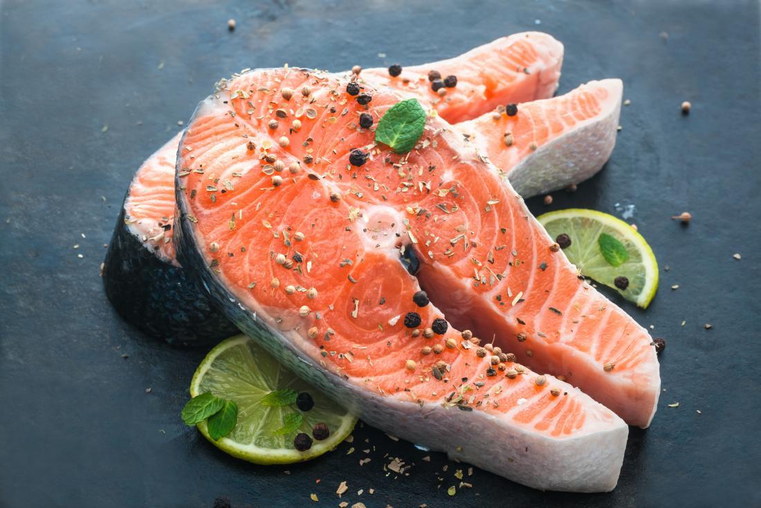 salmão fresco