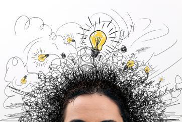 ilustração de criatividade