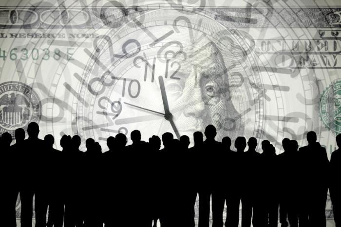 População com o tempo