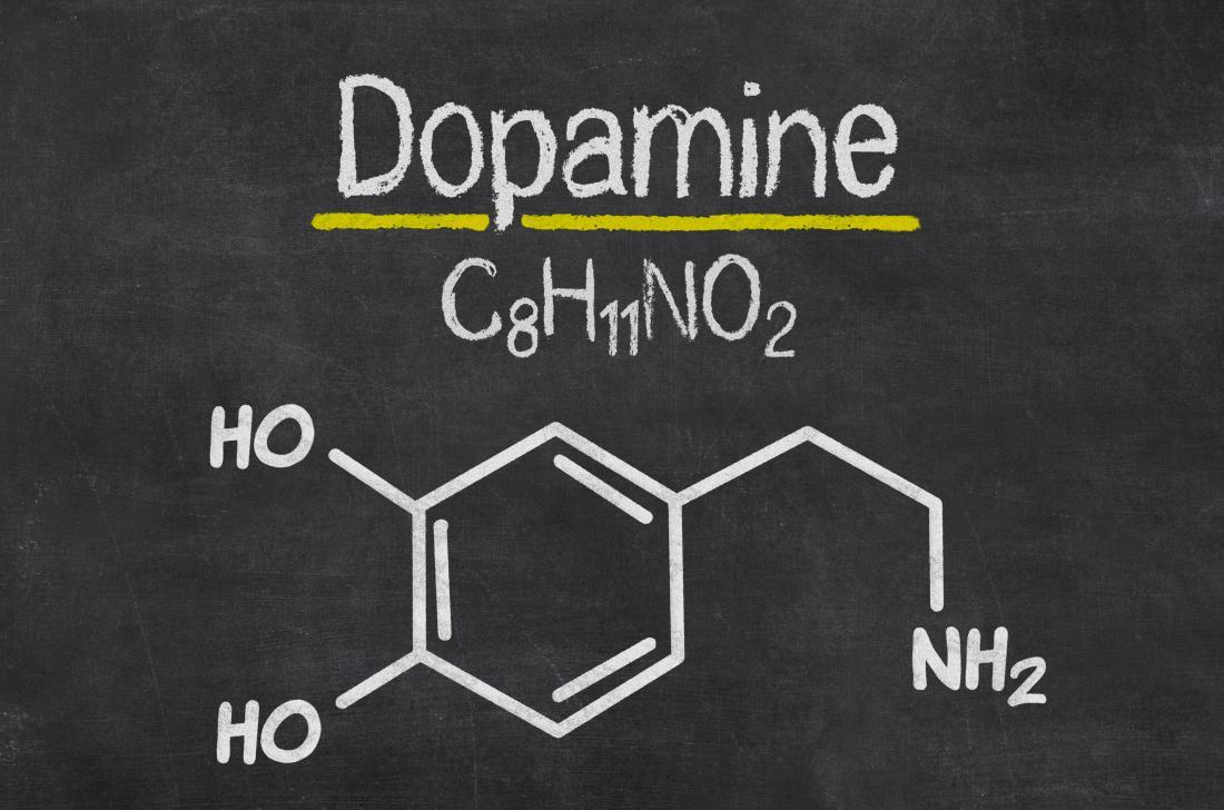 estrutura química da dopamina