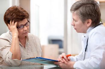 医療従事者と患者との間の議論