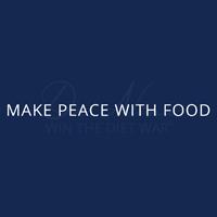 Machen Sie Frieden mit Nahrungsmittellogo