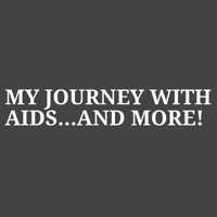 エイズロゴ付きの私の旅