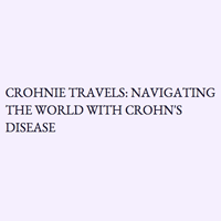 Crohnie Travels logo