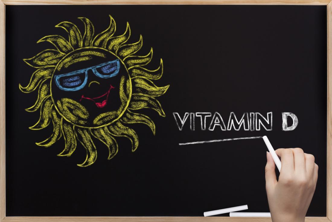 витамин D и слънцето на една табла