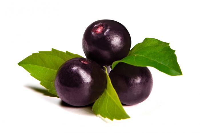 Baies d'açai.