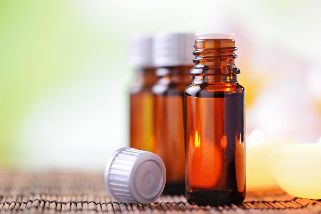 Pentole di olio essenziale per l'influenza