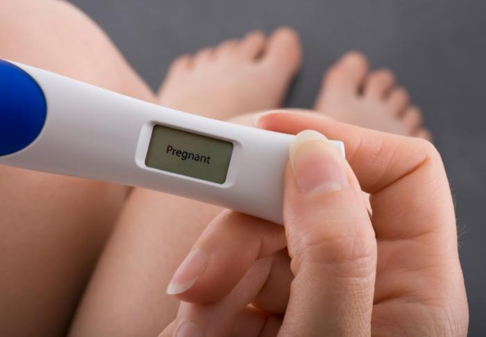 [тест за бременност]