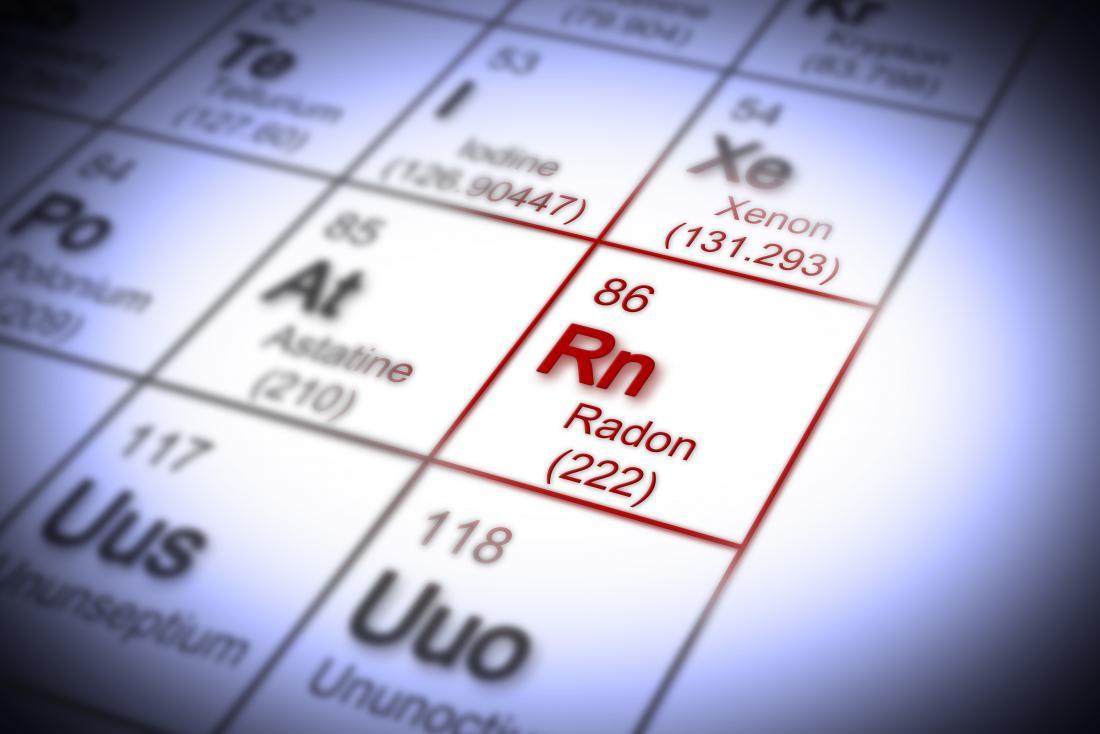 Radonelement