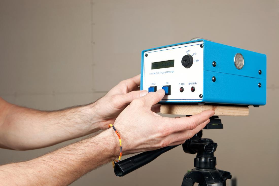 kit de test de radon