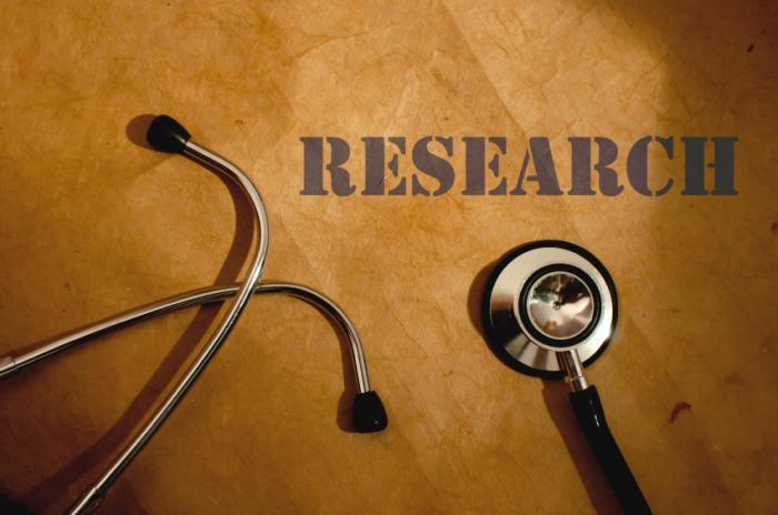 estetoscópio e a pesquisa da palavra