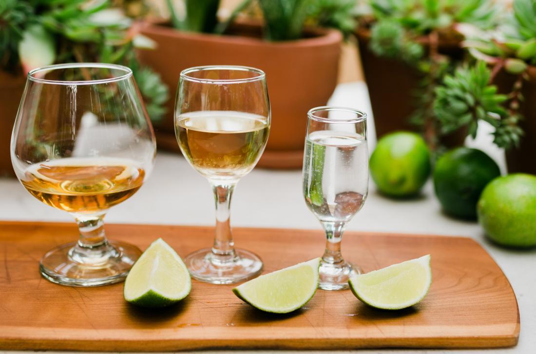 đồ uống khác nhau với nêm vôi