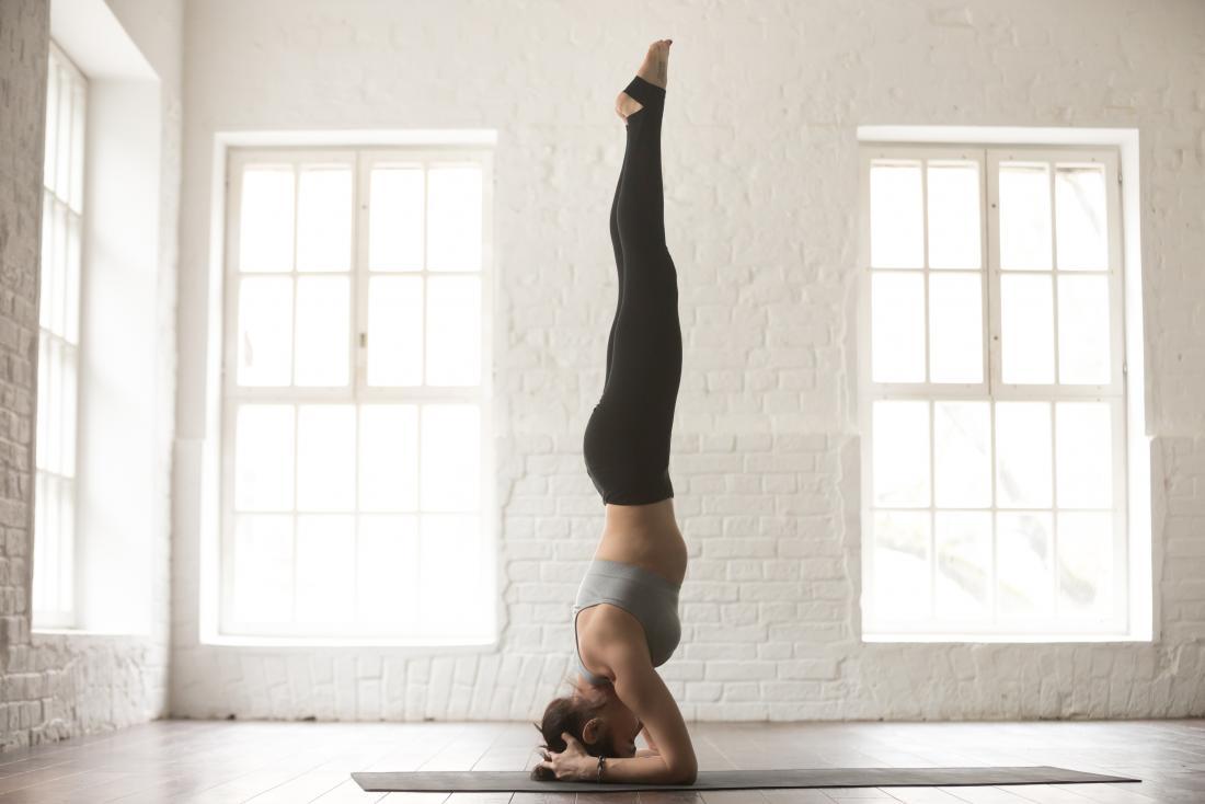 yoga pour la thyroïde - headstand